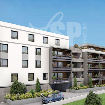 Appartement T4 neuf (A 101) : Le Duo Echirolles