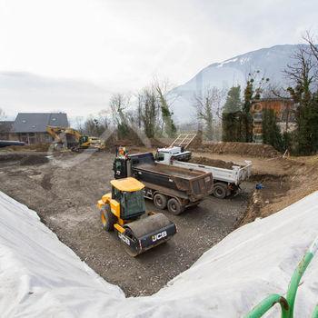 Le Clos de la Roussanne : Terrassement