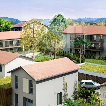 Appartement T3 avec jardin (B002) : Esprit Village